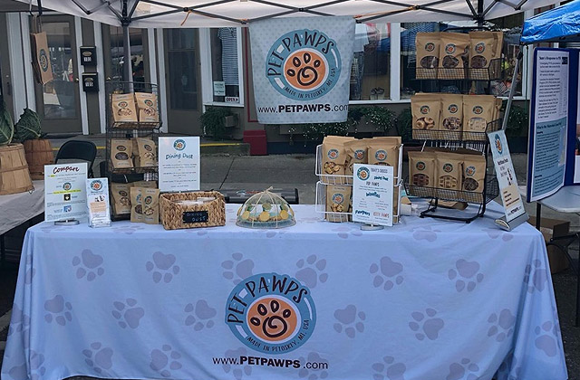 Pet Pawps Harbor Springs Farmers Market