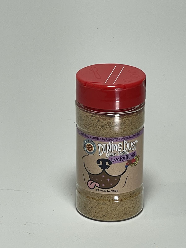 Pet Pawps Everything Dining Dust Small Shaker Jar for Dogs
