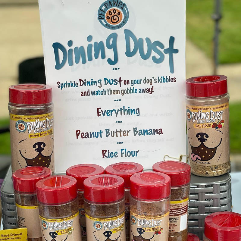 Pet Pawps Dog Treats Dining Dust for Dogs